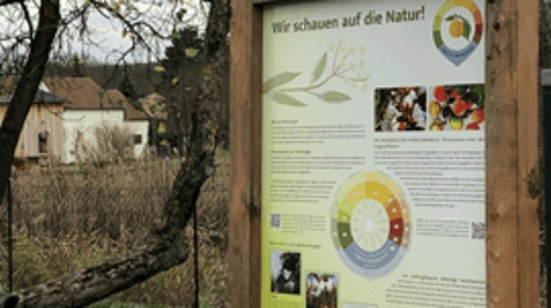 Erster Phänologischer Naschgarten Österreichs
